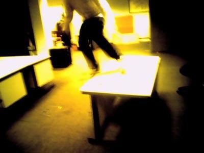desk grind